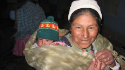 Bolivia - Mother and Baby